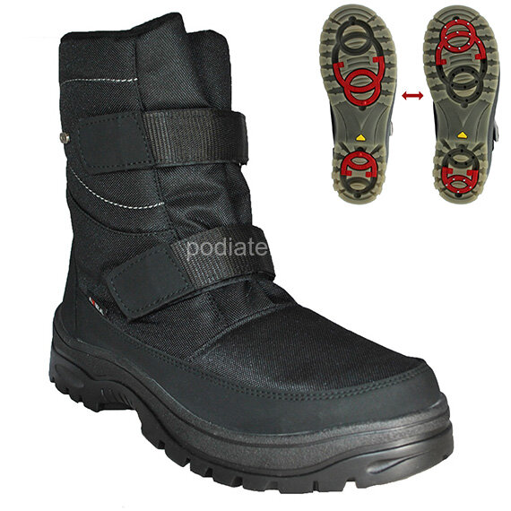 Ботинки мужские Attiba 53613 с шипами на подошве