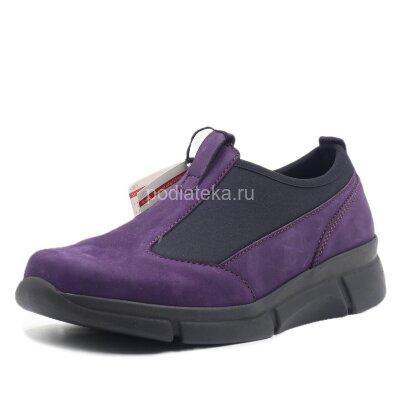 Полуботинки ортопедические женские Berkemann Simea, фиолетовый/черный