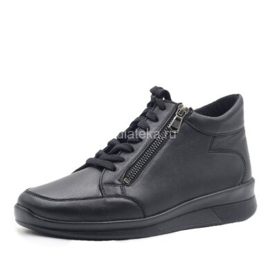 Ботинки ортопедические женские Berkemann Romi, матовый черный