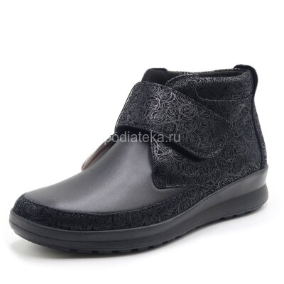 Ботинки ортопедические женские Berkemann Sandra, черный/блестки