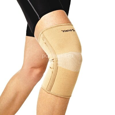 Эластичный коленный бандаж с ребрами жесткости Orlett MKN-103(M)