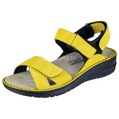 Berkemann Arabella сандалии ортопедические, желтый