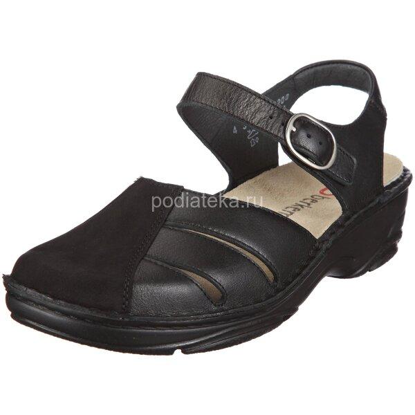 Женские ортопедические сандалии Berkemann Birthe 03417, черные