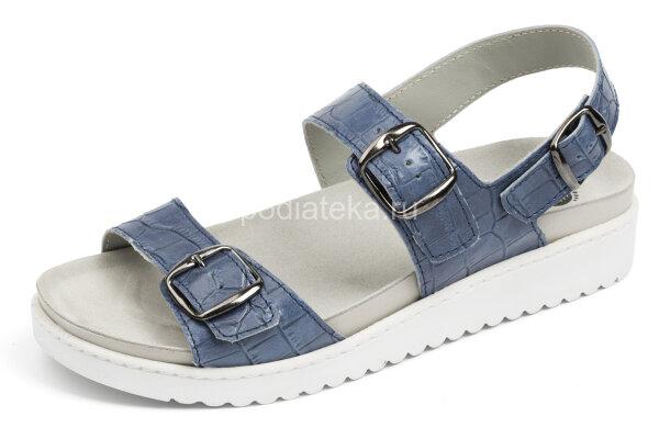 MUBB сандалии с задником 2005-04, синий джинсовый