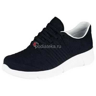 Berkemann ALLEGRA кроссовки ортопедические, черный/белая подошва