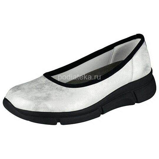 Berkemann Giselle туфли ортопедические, жемчужно-серебряный