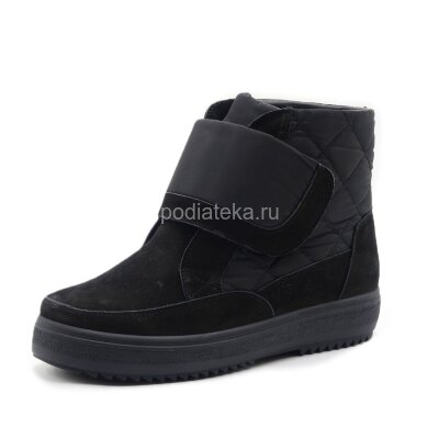 Dr.Spektor ботинки зимние женские с ледоходами DSM-1140, черный