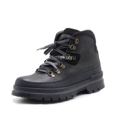 Dr.Spektor ботинки зимние мужские с ледоходами DSM-0048, черный
