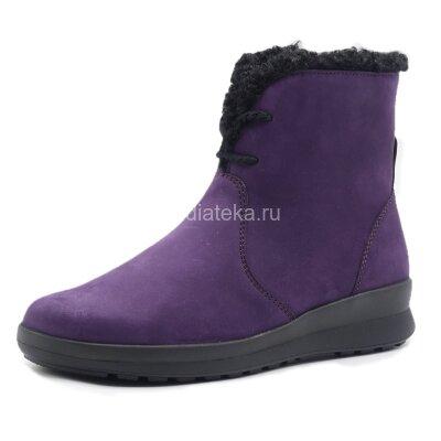 Полусапоги ортопедические женские Berkemann Romira, фиолетовый