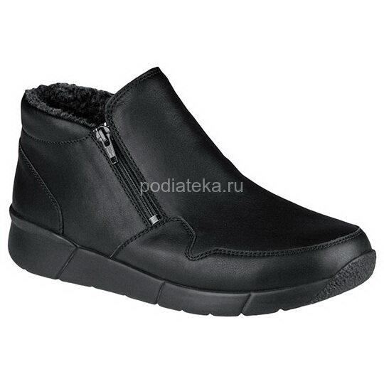 Berkemann Damian ботинки зимние мужские, черный марганец