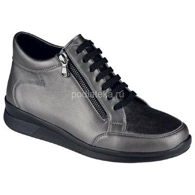 Berkemann Romi ботинки ортопедические женские, серый металл