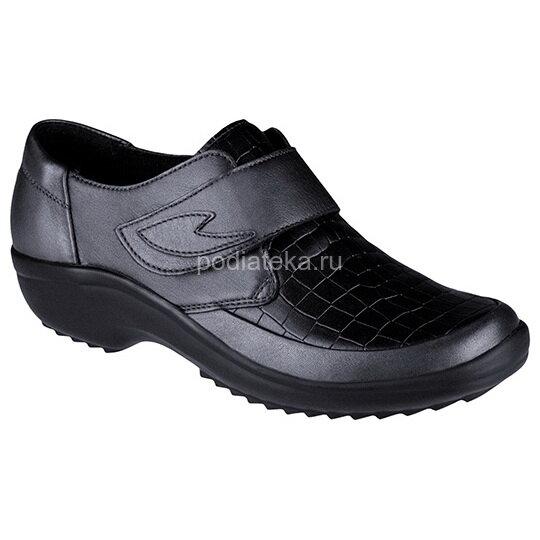 Berkemann Talia туфли ортопедические, черный металл/черный