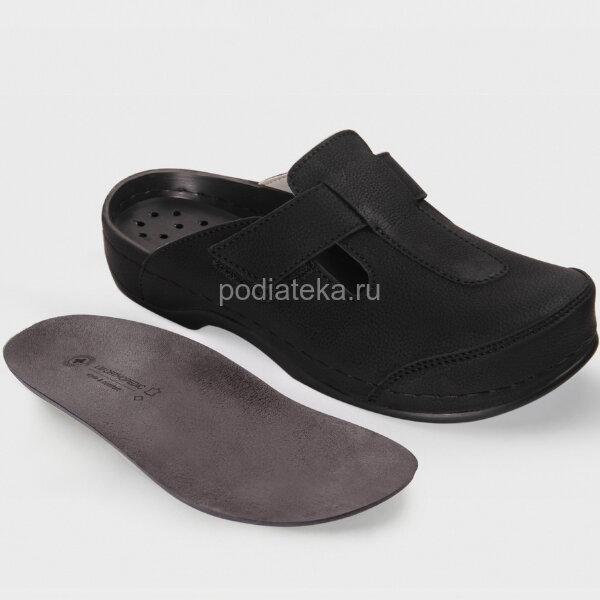 LUOMMA Сабо женские ортопедические LM-500.036, черный