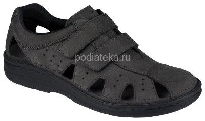 Berkemann JOOST туфли мужские открытые, антрацит